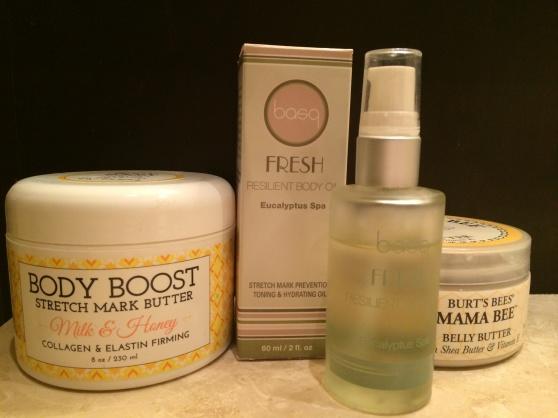 My moisturizing regimen.