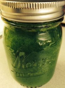 Glowing Green Smoothie... Mmmm!