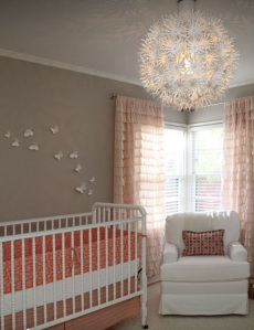 More blush... I definitely don't like this crib.