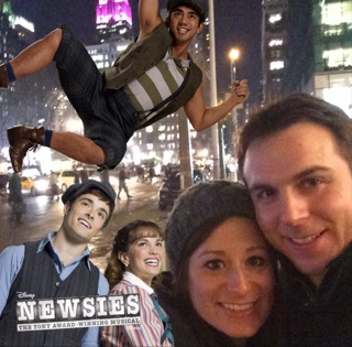 Yes, I downloaded the Newsies app.