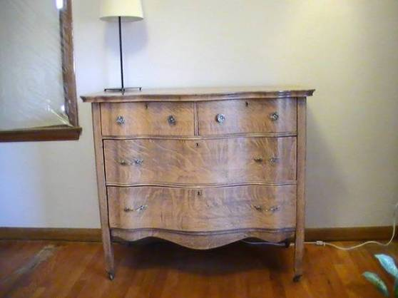 Adorable dresser from Craigslist.