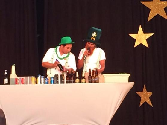 The weirdest and funniest St. Patty's Day beer tasting event EVER.