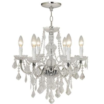 Hampton Bay Maria Theresa 6-Light Chrome Chandelier from Home Depot