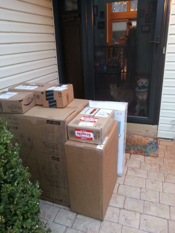 Just a few packages!