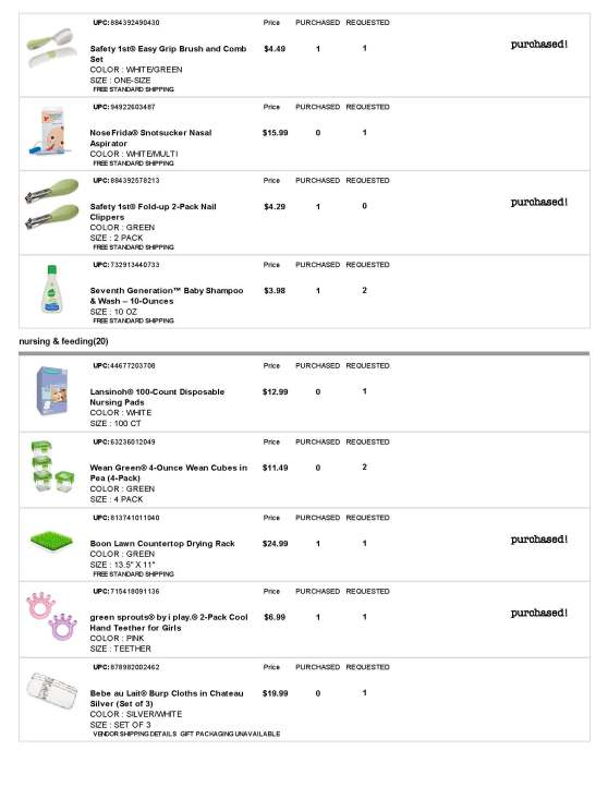 BuyBuy Baby Registry - Page 3