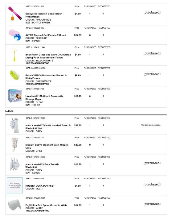 BuyBuy Baby Registry - Page 5