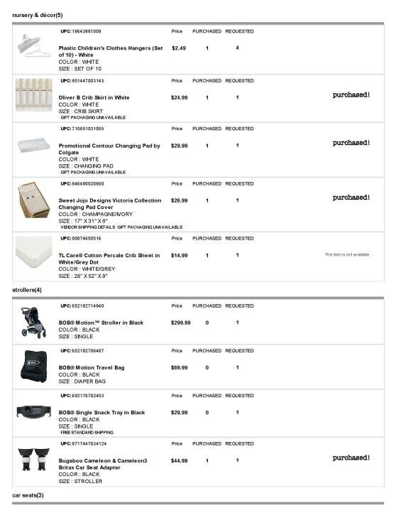 BuyBuy Baby Registry - Page 6