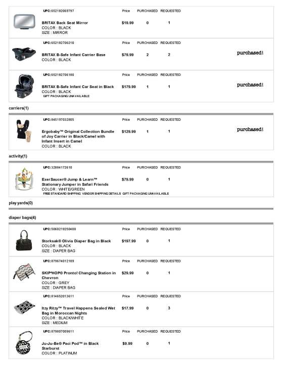 BuyBuy Baby Registry - Page 7