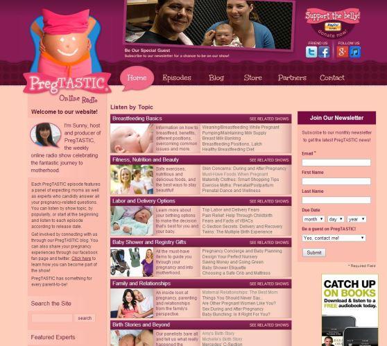 Pregtastic Home Page