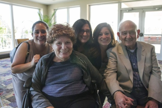 The ladies with Grams & Gramps.