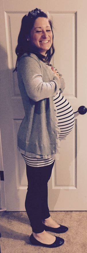 34 Weeks, 5 Days - 4/13/16