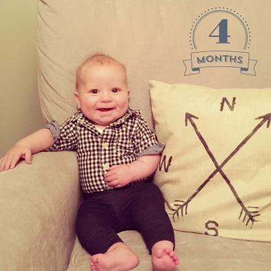 September 30, 2016 - 4 Months Old